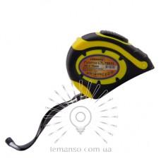 Рулетка LEMANSO 3м x 16мм LTL70011 жёлто-чёрная