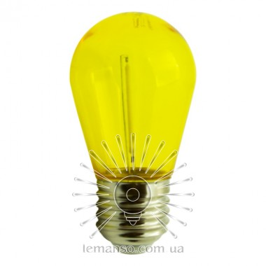 Лампа Lemanso св-ая 1W S14 E27 230V жёлтая / LM3078 описание, отзывы, характеристики