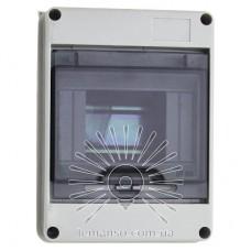 Коробка IP65, под 5 автоматов LEMANSO внутренняя, пластик / LMA7401