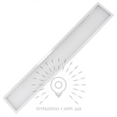 LED панель Lemanso 36W 2700LM 6500K 180-265V / LM1064 накл.(Опал) 1195x180x19мм