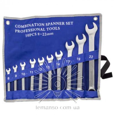 Набор ключей 10шт. LEMANSO LTL90001 синий описание, отзывы, характеристики