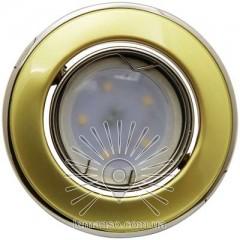 Спот Lemanso LMS005 золото-титан MR-16 50W