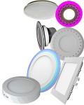 Светодиодные панели в Интернет магазине электротоваров:  Технические особенности - Cтекло