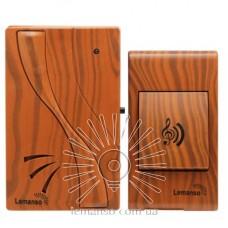 Звонок Lemanso 230V LDB51 вишня
