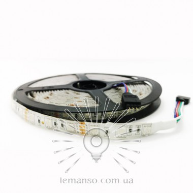 Светодиодная лента LEMANSO IP65 60SMD 5050 12V RGB 14,4W/м/ LM566 описание, отзывы, характеристики