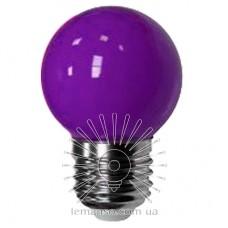 Лампа Lemanso LED G45 E27 1,2W фиолетовый шар / LM705