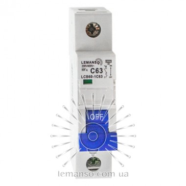 MCB Lemanso 6.0KA (тип С) 1п 20A LCB60 описание, отзывы, характеристики