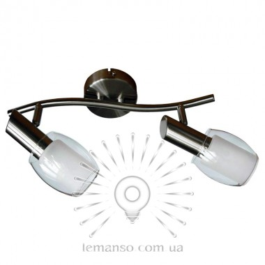Спот Lemanso ST137-2 двойной E14 / 9W матовый хром описание, отзывы, характеристики