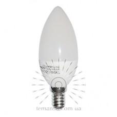 Лампа Lemanso LED C37 E14 4,2W 380LM 6500K мат. / LM321