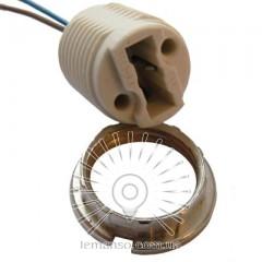 Патрон LEMANSO G9 / провода / LM2515 (LM112) + гайка