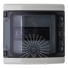 Коробка IP65, под 8 автоматов LEMANSO накладная, пластик / LMA7408