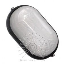 Свет-к LEMANSO овал метал. 60W без реш. BL-1401 черный