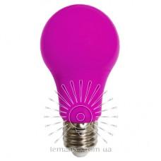 Лампа Lemanso св-ая 7W A60 E27 175-265V розовая / LM3086