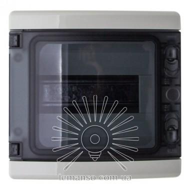 Коробка IP65, под 8 автоматов LEMANSO накладная, пластик / LMA7408 описание, отзывы, характеристики