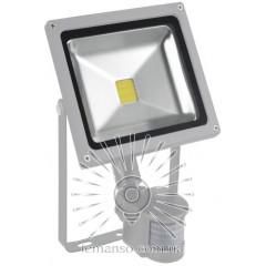 Прожектор LED 10w 6500K IP65 550LM LEMANSO 100-265V с датчиком/ LMPS14