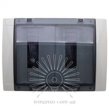 Коробка IP65, под 24 автоматы LEMANSO накладная, пластик / LMA7411 описание, отзывы, характеристики