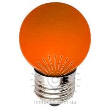 Лампа Lemanso св-ая G45 E27 1,2W оранжевый шар / LM705