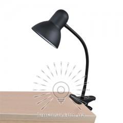 Н/лампа Lemanso 60W E27 LMN097 чёрная прищепка