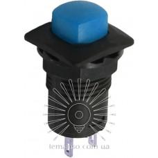 Кнопка Lemanso LSW12 квадрат синяя с фикс. ON-OFF/ DS-226