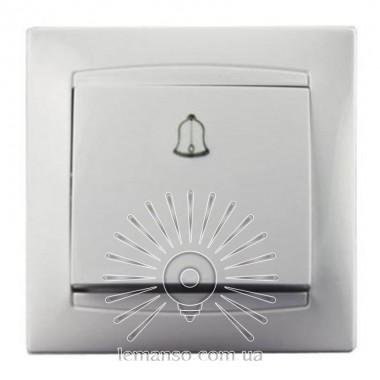 Кнопка звонка LEMANSO Сакура белая                       LMR1010 описание, отзывы, характеристики