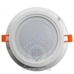LED панель Lemanso 12W 540LM 4500K 85-265V круг / LM1032 + стекло Монтана