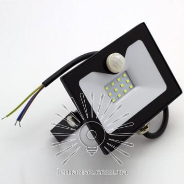 Прожектор LED 10w 6500K 800LM LEMANSO со встроенным датчиком / LMPS15 описание, отзывы, характеристики