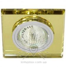 Спот Lemanso ST151 жёлтый-хром GU5.3