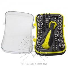 Набор головок и бит с рукояткой LEMANSO LTL10021