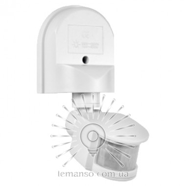 Датчик движения LEMANSO LM629 180° белый описание, отзывы, характеристики