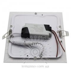 LED панель Lemanso 12W 840LM 85-265V 4500K квадрат / LM1048 Комфорт
