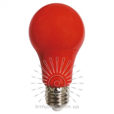 Лампа Lemanso св-ая 7W A60 E27 175-265V красная / LM3086 описание, отзывы, характеристики