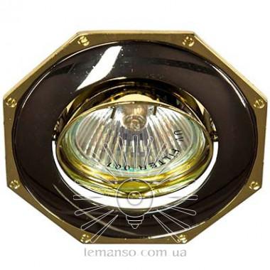Спот Lemanso DL83 чёрный (графит) - золото MR16  /305 описание, отзывы, характеристики