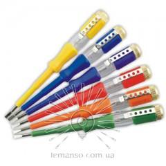 Отвертка  инд, напр, 100-500V LEMANSO 3.0x140мм LTL10074 / только кратное 30штукам(5* 6 цветов)