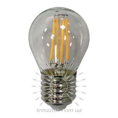 Лампа Lemanso св-ая 6W G45 E27 COB 660LM 6500K 220V / LM3089 описание, отзывы, характеристики