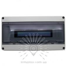 Коробка IP65, под 18 автоматов LEMANSO внутренняя, пластик / LMA7405