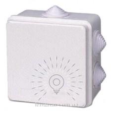 Расп. коробки LEMANSO 85*85*50 квадрат / LMA205 с резиновыми заглушкам
