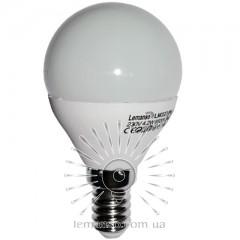 Лампа Lemanso LED G45 E14 4,2W 380LM 4500K матовая / LM323 шар