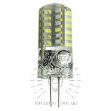 Лампа Lemanso св-ая G4 48LED 2,5W 200LM 6500K 3014SMD AC/DC12V силикон / LM350