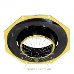 Спот Lemanso AL8183 чёрный(графит) - золото R39  /305