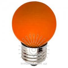 Лампа Lemanso LED G45 E27 1,2W оранжевый шар / LM705