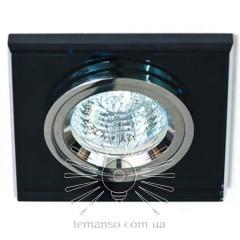 Спот Lemanso ST151 чёрный-хром GU5.3