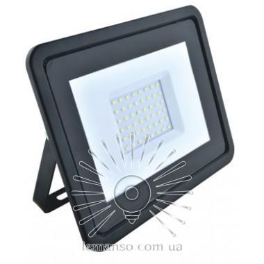 Прожектор LED 50w 6500K IP65 3200LM LEMANSO черный с микров. датчиком / LMPS16-50 / задержка выкл. 30сек описание, отзывы, характеристики