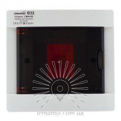 Коробка под 4 автоматы LEMANSO внутренняя, ABS / LMA100