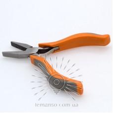 Плоскогубцы LEMANSO 125мм LTL20016 оранжево-серые