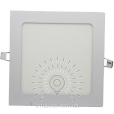 LED панель Lemanso 6W 360LM 85-265V 4500K квадрат / LM1047 Комфорт