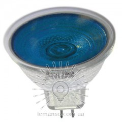 Лампа Lemanso JCDR 50W 230V синяя