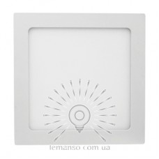 LED панель ABS Lemanso 18W 1080LM 6500K квадрат / LM1061