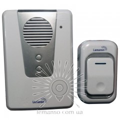 Звонок Lemanso 230V LDB16 белый с серым