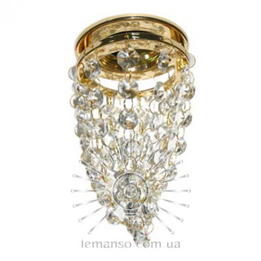 Спот Lemanso CD1210 золото - хрустальные подвески MR16 описание, отзывы, характеристики