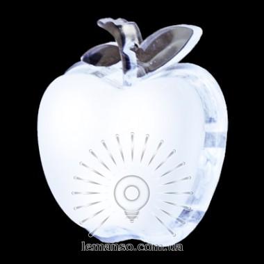 Ночник Lemanso Яблоко белый 3 LED / NL3 описание, отзывы, характеристики